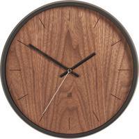 Relógio De Parede Madera Nogueira