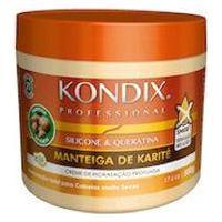 Kondix Manteiga De Karité - Creme De Hidratação Profunda 500G