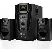 Mini System Alto-Falante Multimídia Rádio Visor Led 2.1 Ch