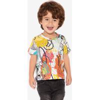 Camiseta Abstract Graffiti Niños 500069