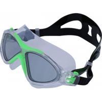 Óculos De Natação Speedo Ômega - Adulto - Verde/Cinza Esc
