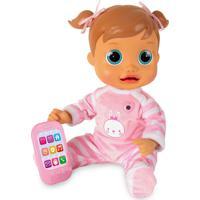 Boneca Baby Wow Analu Rosa Multikids Br732