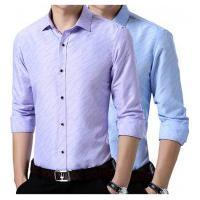 Kit 2 Camisas Sociais Arrow - Azul Clara E Lilás