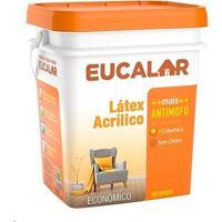 Tinta Acrílica 18 Litros Perola - Eucalar - Eucatex