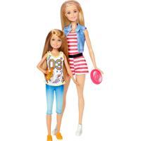 Boneca Articulada - Barbie Dupla De Irmãs - Barbie E Stacie - Mattel - Feminino
