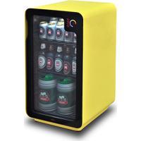 Cervejeira Frost Free Com Wi-Fi 110V Com 100 Litros Amarela