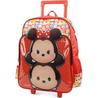Mochila De Rodinhas Tsum Tsum Minnie & Mickey