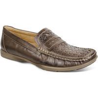 Sapato Masculino Loafer Sandro Moscoloni Broad Marrom