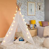 Tenda Infantil Tapii Unissex Natural E Creme