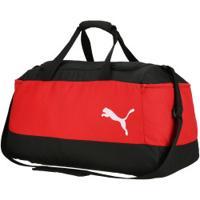 Mala Puma Pro Training Ii Medium Bag - Vermelho/Preto