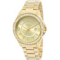 Relógio Condor Co2115Tm/4X - Feminino-Dourado