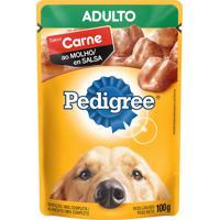 Ração Para Cães Pedigree Adulto Sachê Sabor Carne Ao Molho 100G