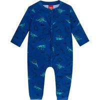 Macacão Bebê Masculino Azul