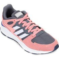 Tênis Adidas Chaos Feminino - Feminino-Rosa+Branco