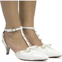 Sapato De Noivas Zariff Shoes Laço Branco