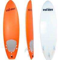 Prancha De Surf 5.8 Mini Fun New Edition - Laranja + Kit Surf Brasil Natural