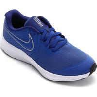 Tênis Infantil Nike Star Runner 2 Gs - Masculino-Azul Royal+Prata