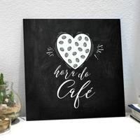 Placa Decorativa - Hora Do Café