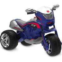 Super Moto Gt Turbo Elétrica 12V Azul
