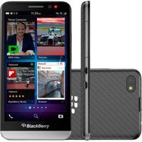 "Smartphone Blackberry Z30 - 16Gb - Os 10.2 - Tela 5"" - 4G - 8Mp - Ram 2Gb - Preto"