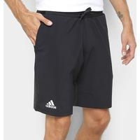 Short Adidas Club Stretch Woven 9 Masculina - Masculino-Preto