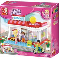 Blocos New Girls Dream Supermercado 289 Pcs Multikids Br903