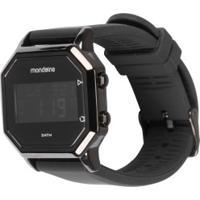 Relógio Digital Mondaine 53963Gp - Masculino - Preto