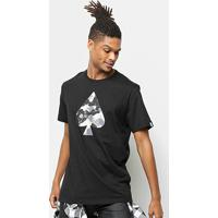 Camiseta Mcd Regular Minerals Spade Masculina - Masculino-Preto