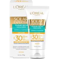 Protetor Solar Facial L'Oréal Expertise Antiacne Fps 30 50G