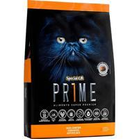Ração Para Gatos Filhotes Special Cat Prime 8Un 0.5Kg Salmão E Arroz