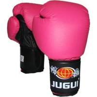 Luva De Boxe Muay Thai Combate Pink - Jugui