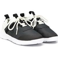 Lacoste Kids Panelled Sneakers - Preto