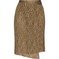 Eckhaus Latta Space Wrap Skirt - Marrom