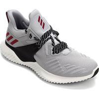 Tênis Adidas Alphabounce Beyond 2 Masculino - Masculino-Cinza+Preto