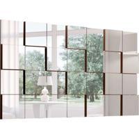 Espelho Decorativo Evidence 137 X 79 Preto