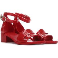 Sandália Petite Jolie Core Feminina - Feminino-Vermelho