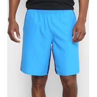 Bermuda Adidas Ripstop Masculina - Masculino-Azul+Preto