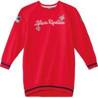 Vestido Lilica Ripilica Infantil 1010996944685 Vermelho