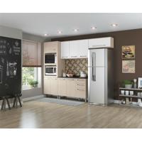 Cozinha Henn Smart 2 Fornos 4 Peças Fendi Com Branco