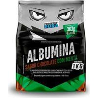 Albumina Desidratada 1Kg - Proteina Pura - Unissex-Chocolate+Menta