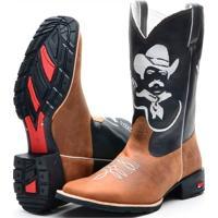 Bota Country Texana Ramon Boots Tião Carreiro