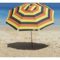 Guarda-Sol Ombrelone Tobee Cancun 2.20M Cinza/Amarelo/Laranja