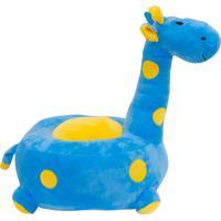 Pelúcia Minas De Presentes Girafa Azul - Kanui