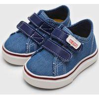 Tênis Klin Infantil Mini Style Azul