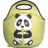 Lancheira Térmica Tritengo Em Neoprene - Panda - Unissex