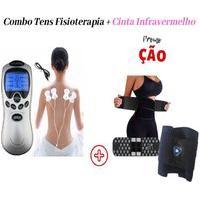 Combo Aparelho Fisioterapia + Cinta Modeladora Magnética