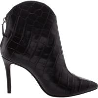 Bota New Western Croco Black | Schutz