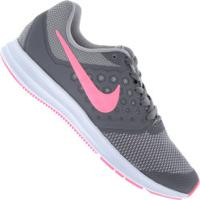 Tênis Nike Downshifter 7 Feminino - Infantil - Cinza/Cinza Esc