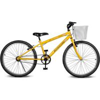 Bicicleta Kyklos Bikes Aro 24 Magie Sem Marchas Amarelo