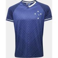 Camiseta Cruzeiro Gave Masculina - Masculino-Azul
